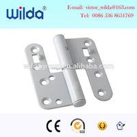 wood h type door hinge