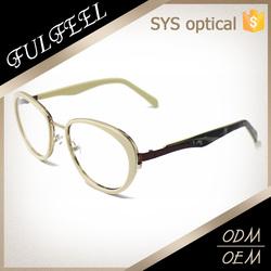 2015 Popular Fashion Design Acetate Optical Eyeglasses Frame