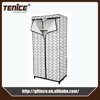 Tennice hot sales assemble nonwoven fabric wardrobes bedroom