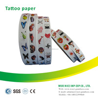 Good quality clear temporary tattoo transfer paper for kids