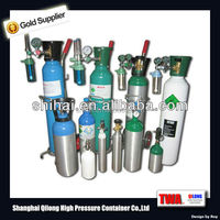 2015 Hot Sale CE/TPED Small Portable Oxygen Cylinder Price