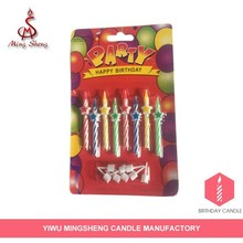 Most popular spiral birthday candle for sale