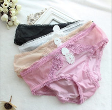 Girls Sex Black Soft Cotton Stretch Seamless Tight Underwear Safty Shorts