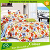100% polyester queen microfiber bed sheet set