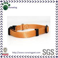 Multiple Colors Buckle Adjustable Nylon Dog Collar Pet Collar