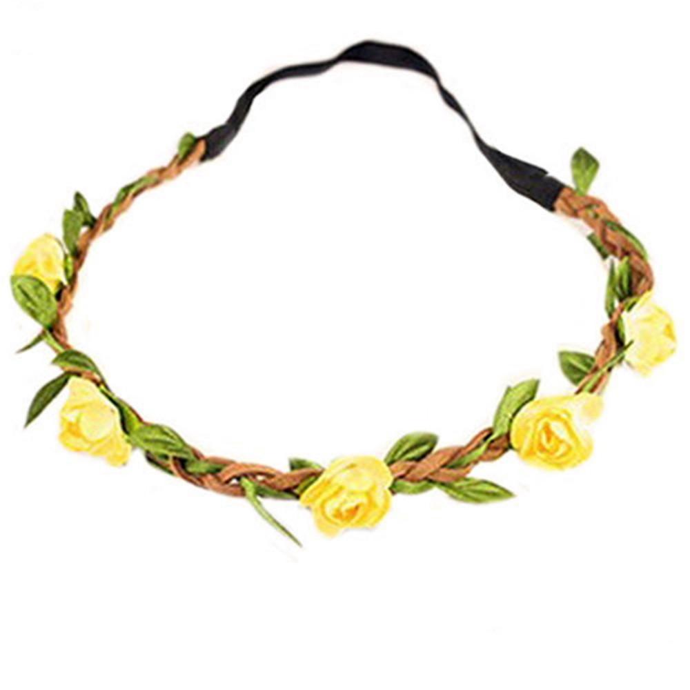 1шт Бохо стиль цветочные цветок женщин девочек лентой оголовьем фестиваль участник свадьбы