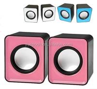 China speaker manufacturer cute portable professional active speake the ccheapest USB mini speaker r FC2