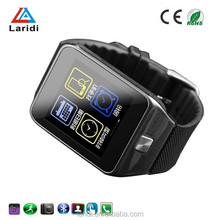 2015 New and steel android 4.4 smart watch V8 smartwatch mobile phone support ios and android system