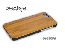 Wood And Hard PC Back Cover For iPhone 6 Bamboo Phone Case