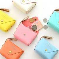 cute candy-colored macarons series stereo small purse coin purse