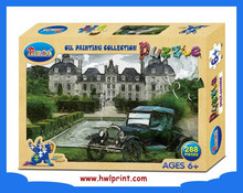 intelligence toy paper jigsaw puzzle card table game