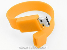 wholesale custom usb flash drive special 2D/3D design ring shaped usb flash drive with full capacity