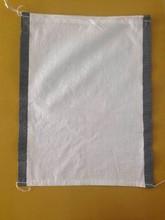 sand bag white and black /green side