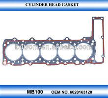 <oem gasket> Cylinder Head Gasket for SSANGYONG engine OEM NO.6620163120