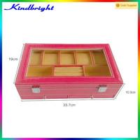 sexy product jewel box jewellery box jewel casket leather material velvet inside