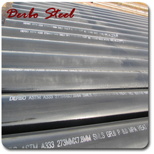 High quality ASTM a333 gr6 seamless steel pipe/Manufacturer of hs code carbon seamless steel