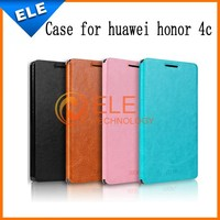 Huawei Honor 4C Case,Mofi Flip Leather Case for Huawei Honor 4C Mobile Phone Screen protective cover Multi Color