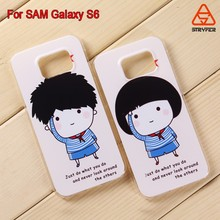 Low price china mobile for samsung galaxy s6 drawing case ,hard pc phone shell for samsung galaxy s6