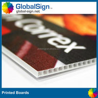 Good quality PP printed board for your outdoor sales promotional events