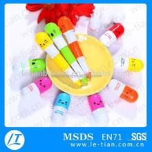 LT-Y865 Newest fancy kids pill shape pen