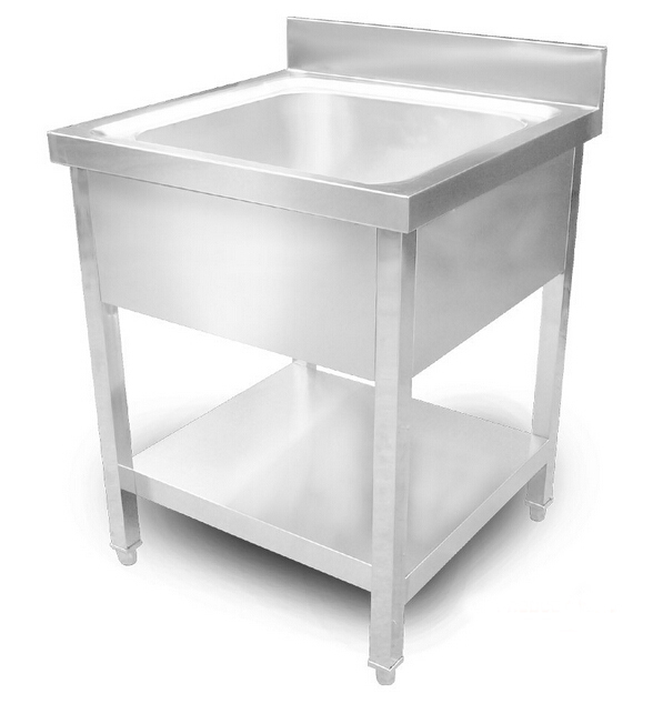 Heavy Duty Utility Sink : Standing Heavy Duty Stainless Steel Commercial Kitchen Sink Laundry ...