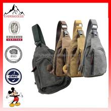 New Design Men's Vintage Canvas Messenger Bag School Military Shoulder Bag