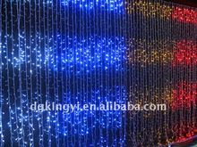 led curtain lights copper wire string UL led christmas light