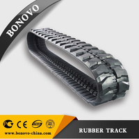 Best Price 400x72.5x74 agricultural rubber track for sale Mini Excavator rubber track for engineer