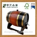 Hechos a mano de madera de roble americano de barriles de vino al por mayor!