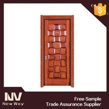 Security safety exterior wood door design in china