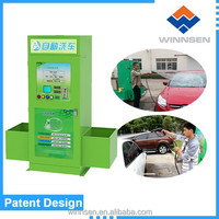 Shampoo/ wax/rinsing/vacuum-cleaner combined car cleaning service station equipment WCW-A10