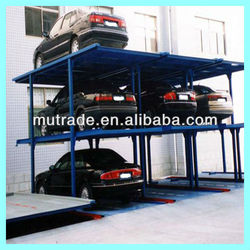 inground moblie 4 post home garage car parking solutions