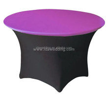 serviceable spandex table and chair covers/table linens and chair covers/wholesale table linens and chair covers
