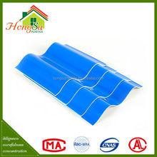 2 Layer pvc roof tile,pvc plastic roof tile,plastic roof tile