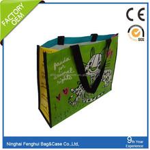 China Suppliers pp woven lamination shopping bag
