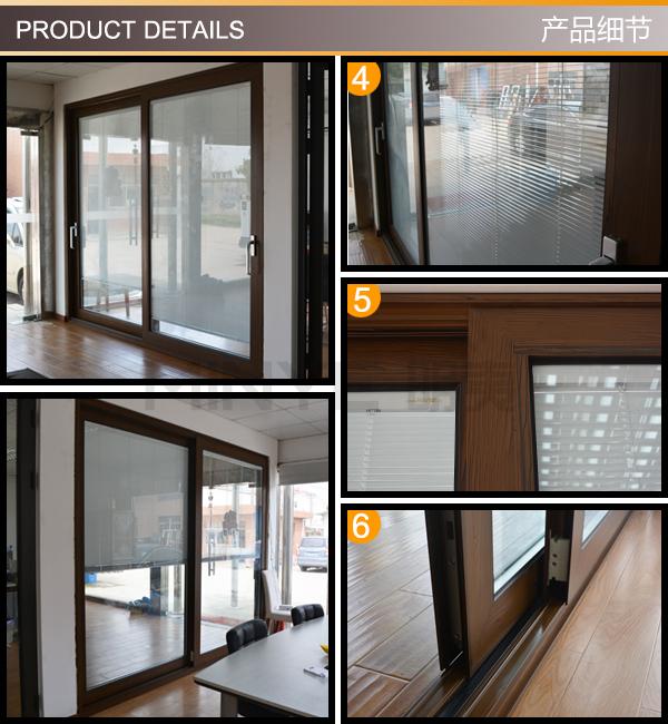 Diseño grande puerta corredera de patio grande puerta exterior de ...