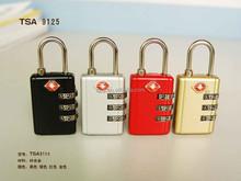 Zinc Alloy TSA Lock for luggage Zipper 2015 new product