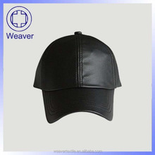 2015 China Products Custom Black And Brown Leather Baseball Caps Baseball No Brand