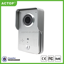 Smart Home Securit t ip video door phone With APP for Android and IOS Smartphone