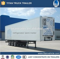 freezer semi-trailer with thermo king refrigeration units
