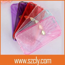 Wholesale Fashion Wave Fan-shaped Cellphone case for iphone 5/5S