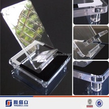 Best quality low price acrylic mobile phone holder mobile phone display clear acrylic cell phone display