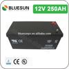 ISO CE ROHS UL Certificate best lead acid in batteries 12v 250ah