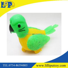 2015 newest bird animal pull line toy two color assorted
