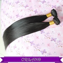 Heat Resistant Synthetic fashion Long hair extension straight black hair