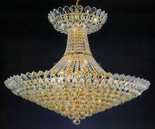 Antique crystal low ceiling lamp chandelier