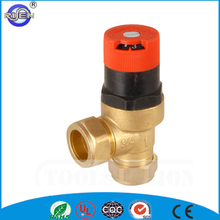 Hot selling cw617n high pressure safety relief automatic bypass air vent valve