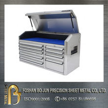 manufacturing customized metal tool box with wheels , tool cabinet made in china