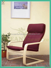 2014 new ikea style colorful printed cheap chair cover
