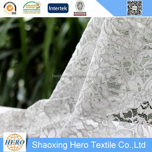 High quality ladies discount lace fabric shabby chic chiffon flowers